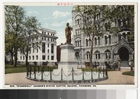 "General ""Stonewall"" Jackson's Statue, Richmond, Virginia, circa 1914-1917"