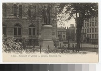 Monument of Thomas J. Jackson, Richmond, Virginia, circa 1901-1907