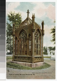Tomb of James Monroe, Richmond, Virginia, circa 1907-1914