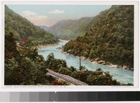New River Canyon, West of Nuttall, West Virginia, 1915-1930