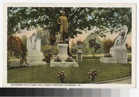 Jefferson Davis tomb, Hollywood Cemetery, Richmond, Virginia, circa 1907-1914