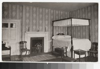Bedroom of Chief Justice Marshall, Richmond, Virginia, circa 1913-1914