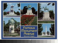 Famous Monument Avenue, Richmond, Virginia, circa 1961-1980