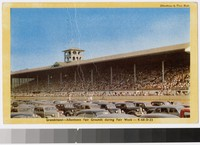 Grandstand at Fair Grounds during Fair Week, Allentown, Pennsylvania, 1945-1955