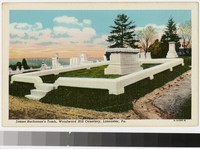 James Buchanan's Tomb, Woodward Hill Cemetery, Lancaster, Pennsylvania, 1915-1930