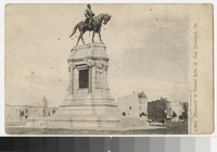 Monument of General Robert E. Lee, Richmond, Virginia, circa 1904-1907