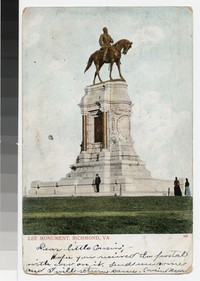 Lee Monument, Richmond, Virginia, circa 1901-1906