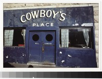 Cowboy's Bar, Lordsburg, New Mexico, 1984-1990