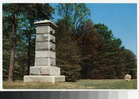 Jackson Monument, Fredericksburg and Spotsylvania National Military Park, Virginia, circa 1945-1970