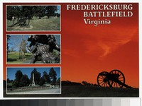 Views of Fredericksburg Battlefield, Virginia, circa 1981-1990