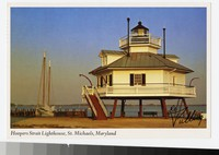 Hoopers Strait Lighthouse, St. Michaels, Maryland, 1971-1983