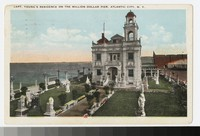 Captain Young's residence on the Million Dollar Pier, Atlantic City, New Jersey, 1920-1926