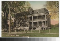 Chancellor House, ten miles from Fredericksburg, Virginia, circa 1907-1914