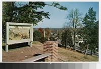 Painting on Marye's Heights, Fredericksburg and Spotsylvania National Military Park, Fredericksburg, Virginia, circa 1951-1970