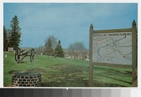 Marye's Heights, Fredericksburg and Spotsylvania National Military Park, Fredericksburg, Virginia, circa 1961-1990