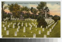 National Cemetery, Winchester, Virginia, circa 1931-1944