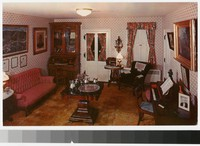 Living room, Jonathan Hale Homestead, Bath Township, Ohio, 1973-1990