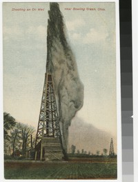 Shooting an Oil Well, Bowling Green, Ohio, 1907-1914
