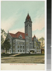 Wood County Court House, Bowling Green, Ohio, 1907-1914