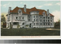 Wood County Jail, Bowling Green, Ohio, 1907-1914