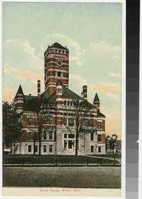 Court House, Bryan, Ohio, 1907-1914