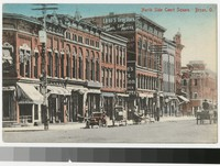 North Side Court Square, Bryan, Ohio, 1907-1914