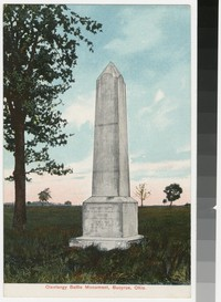 Olentangy Battle Monument, Bucyrus, Ohio, 1907-1914