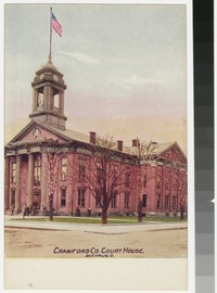 Crawford County Court House, Bucyrus, Ohio, 1907-1914