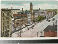 Public Square, Canton, Ohio, 1907-1914