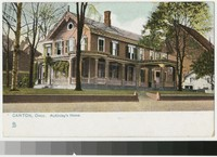 McKinley's Home, Canton, Ohio, 1901-1907