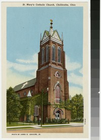St. Mary's Catholic Church, Chillicothe, Ohio, 1915-1930