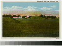 Mound City State Park, Chillicothe, Ohio, 1915-1930