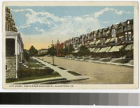 14th Street, North from Fairview Street, Allentown, Pennsylvania, 1915-1921
