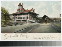 Lehigh Valley Railroad Station, Allentown, Pennsylvania, 1901-1903