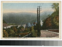 View from Packer's Hill, Mauch Chunk, Pennsylvania, 1915-1917