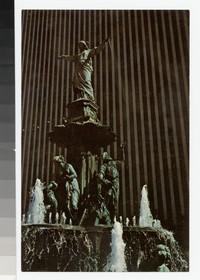 Tyler-Davidson Fountain, Fountain Square, Cincinnati, Ohio, 1969-1980