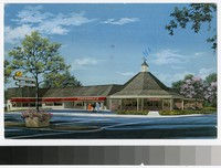 Artist's depiction of O'Donnell's Restaurant, Bethesda, Maryland, 1971-1986