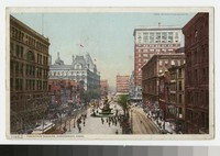 Fountain Square, Cincinnati, Ohio, 1907-1910