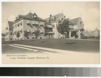 Allentown Hospital, Allentown, Pennsylvania, 1905-1907