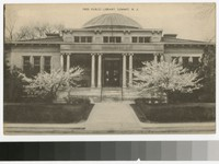 Free Public Library, Summit, New Jersey, 1907-1914