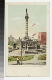 Soldiers' and Sailors' Monument, Cleveland, Ohio, 1901-1907