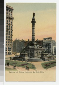 Soldier's and Sailor's Monument, Cleveland, Ohio, 1901-1907