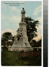 Soldiers and Sailors Monument, Columbus, Ohio, 1907-1914