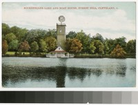Rockefeller Lake and Boat House, Forest Hill, Cleveland, Ohio, 1907-1914