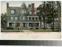 Glenmere, the late Senator Hanna's Residence, Cleveland, Ohio, 1904-1907