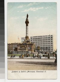 Soldier's and Sailor's Monument, Cleveland, Ohio, 1907-1914