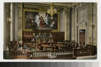 Federal Court Room in new Court House, Cleveland, Ohio, 1907-1914