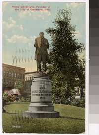 Statue of Moses Cleaveland, Cleveland, Ohio, 1907-1912