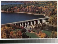 Brighton Dam, Triadelphia Reservoir, Maryland, 1981-1991