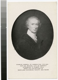 Portrait of Charles Carroll, 1951-1967